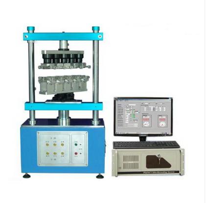 多工位连接器插拔力寿命试验机